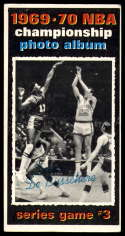 1970-71 Topps #170 1969-70 NBA Championship Game 3 VG/EX Very Good/Excellent