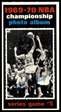 1970-71 Topps #172 1969-70 NBA Championship Game 5 NM Near Mint