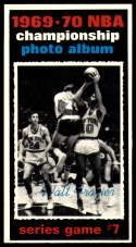 1970-71 Topps #174 1969-70 NBA Championship Game 7 NM Near Mint