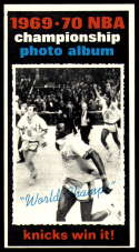 1970-71 Topps #175 1969-70 NBA Championship Final Stats EX/NM