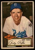 1952 Topps #1 Andy Pafko VG/EX Very Good/Excellent Red Back