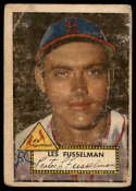1952 Topps #378 Les Fusselman marked RC Rookie