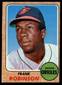 1968 Topps #500 Frank Robinson EX Excellent