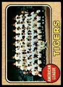 1968 Topps #528 Tigers Team VG Very Good