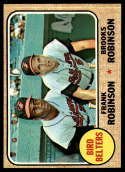 1968 Topps #530 Frank Robinson/Brooks Robinson Bird Belters VG/EX Very Good/Excellent