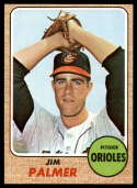 1968 Topps #575 Jim Palmer VG/EX Very Good/Excellent
