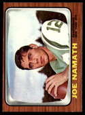 1966 Topps #96 Joe Namath EX Excellent