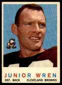 1959 Topps #169 Junior Wren EX Excellent RC Rookie