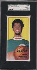1970-71 Topps #75 Lew Alcindor SGC 92 8.5