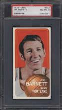1970-71 Topps #142 Jim Barnett PSA 8