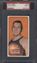 1970-71 Topps #146 Len Chappell PSA 9 oc
