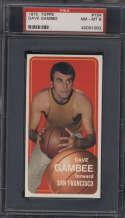 1970-71 Topps #154 Dave Gambee PSA 8