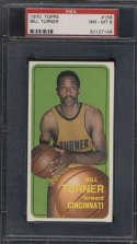 1970-71 Topps #158 Bill Turner PSA 8