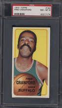 1970-71 Topps #162 Fred Crawford PSA 8