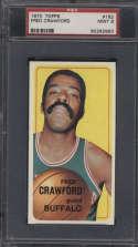 1970-71 Topps #162 Fred Crawford PSA 9