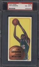 1970-71 Topps #163 Tom Sanders PSA 8