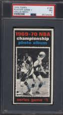 1970-71 Topps #168 1969-70 NBA Championship Game 1 PSA 7