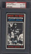 1970-71 Topps #173 1969-70 NBA Championship Game 6 PSA 8