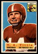 1956 Topps #86 Y. A. Tittle VG/EX Very Good/Excellent