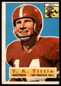 1956 Topps #86 Y. A. Tittle VG Very Good