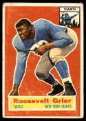 1956 Topps #101 Roosevelt Grier VG Very Good RC Rookie