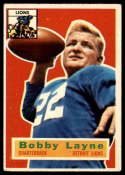 1956 Topps #116 Bobby Layne VG/EX Very Good/Excellent