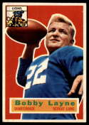 1956 Topps #116 Bobby Layne EX Excellent