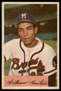 1954 Bowman #224 Bill Bruton UER G Good