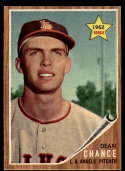 1962 Topps #194 Dean Chance EX Excellent RC Rookie green tint