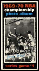 1970-71 Topps #171 1969-70 NBA Championship Game 4 VG Very Good