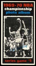 1970-71 Topps #172 1969-70 NBA Championship Game 5 EX Excellent