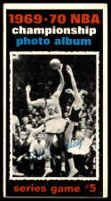 1970-71 Topps #172 1969-70 NBA Championship Game 5 VG Very Good