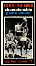 1970-71 Topps #174 1969-70 NBA Championship Game 7 VG/EX Very Good/Excellent