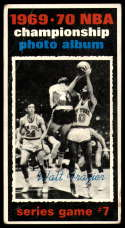 1970-71 Topps #174 1969-70 NBA Championship Game 7 VG Very Good