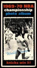 1970-71 Topps #175 1969-70 NBA Championship Final Stats VG Very Good