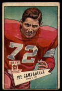 1952 Bowman Small #74 Joe Campanella G Good RC Rookie