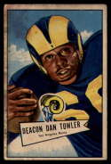 1952 Bowman Small #120 Dan Towler VG Very Good