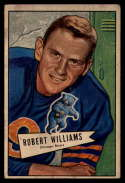 1952 Bowman Small #133 Bob Williams VG Very Good