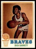 1973-74 Topps #77 Dick Garrett NM+ Buffalo Braves