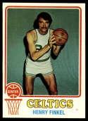 1973-74 Topps #94 Henry Finkel NM+ Boston Celtics