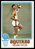 1973-74 Topps #214 Roland Taylor NM Near Mint Virginia Squires