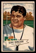1952 Bowman Small #135 Gene Ronzani CO VG/EX Very Good/Excellent RC Rookie Green Bay Packers
