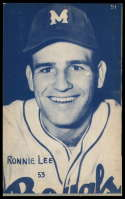 1953 Canadian Exhibits #51 Ronnie Lee EX Excellent Montreal Royals