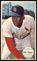 1964 Topps Giants #41 Bob Gibson VG/EX Very Good/Excellent St. Louis Cardinals