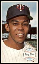 1964 Topps Giants #44 Tony Oliva VG/EX Very Good/Excellent Minnesota Twins