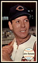 1964 Topps Giants #59 Johnny Romano EX Excellent Cleveland Indians
