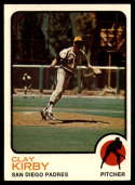 1973 Topps #655 Clay Kirby EX/NM San Diego Padres