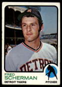 1973 Topps #660 Fred Scherman VG/EX Very Good/Excellent Detroit Tigers