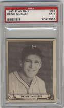 1940 Play Ball #96 Heinie Mueller PSA 5 Philadelphia Phillies