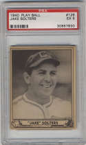 1940 Play Ball #126 Moose Solters PSA 5 Chicago White Sox